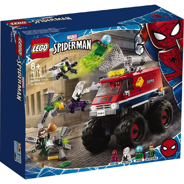 LEGO Marvel Super Heroes Spider-Man's Monster Truck vs. Mysterio 76174, , hi-res