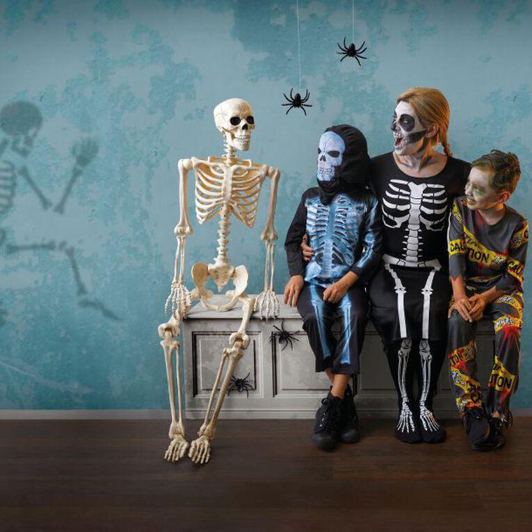 Seasons Life Size Poseable Skeleton 152cm, , hi-res