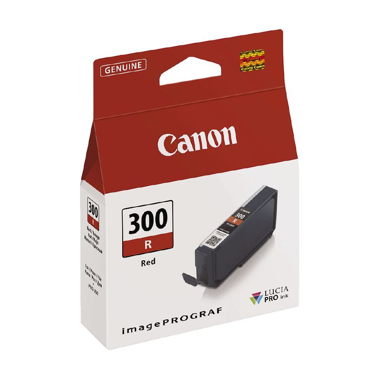 Canon Ink Lucia Pro PFI-300 Red, , hi-res