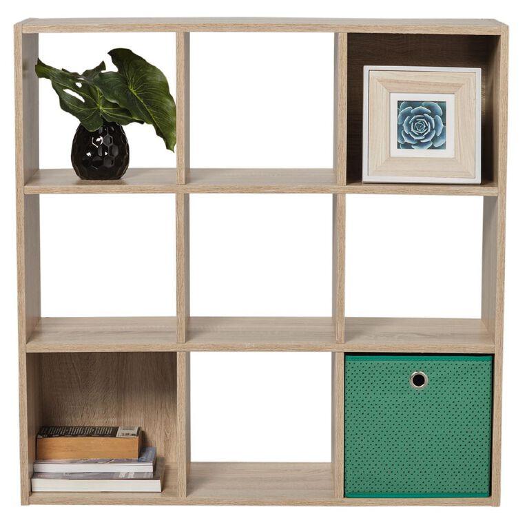 Living & Co Mason 9 Cube Oak Look, , hi-res