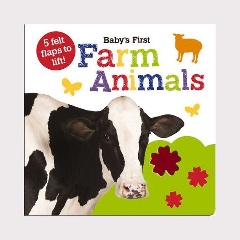 Baby's First Felt Flap Book: Farm Animals, , hi-res
