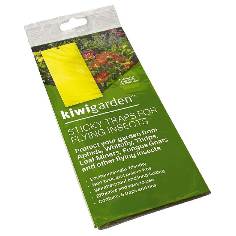 Kiwi Garden Flying Insect Stickies 5 Pack, , hi-res