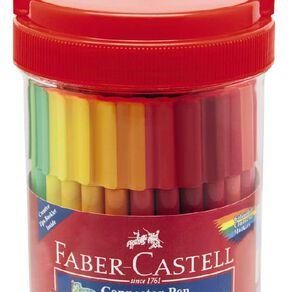 Faber-Castell Connector Felt Pens Bucket 50 Pack