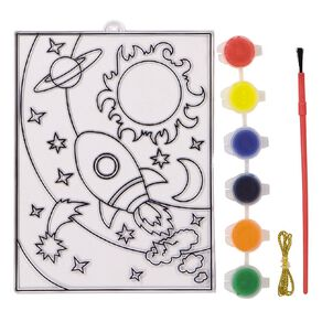 Kookie Paint Your Own Stained Art Blister Card Space