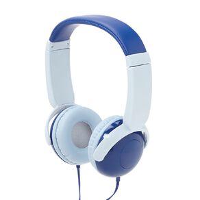 Tech.Inc Dome Kids' Volume Limited Headphones Blue