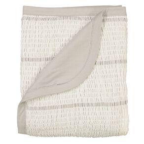 Babywise Organic Cotton Crinkle Blanket