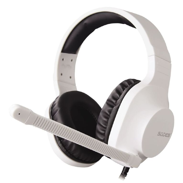 SADES Sprits Gaming Headset White, , hi-res