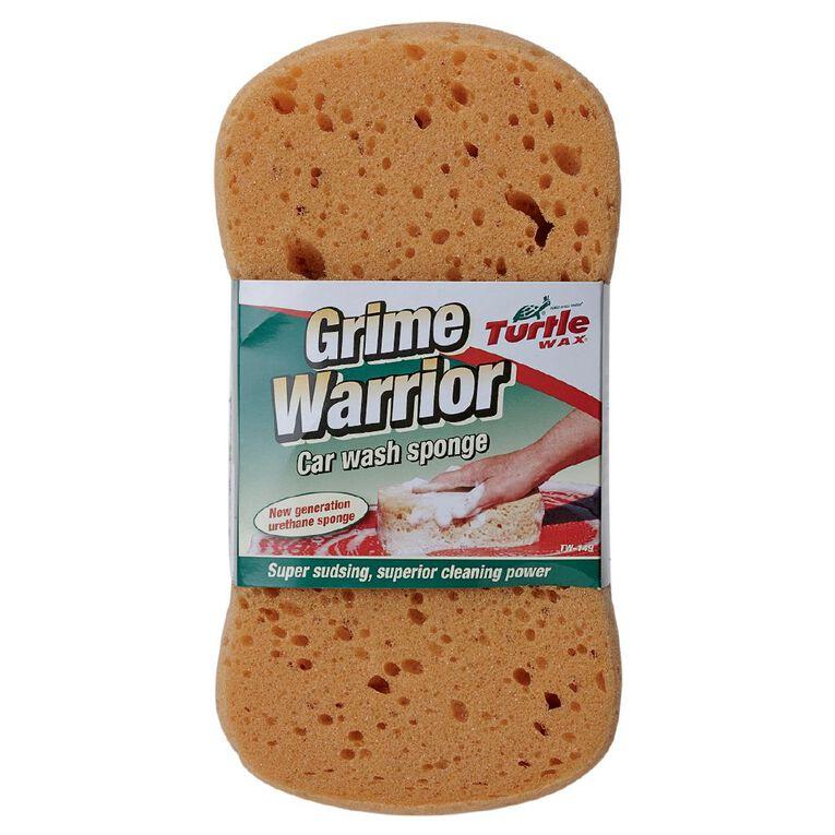 Turtle Wax Grime Warrior Car Wash Sponge, , hi-res