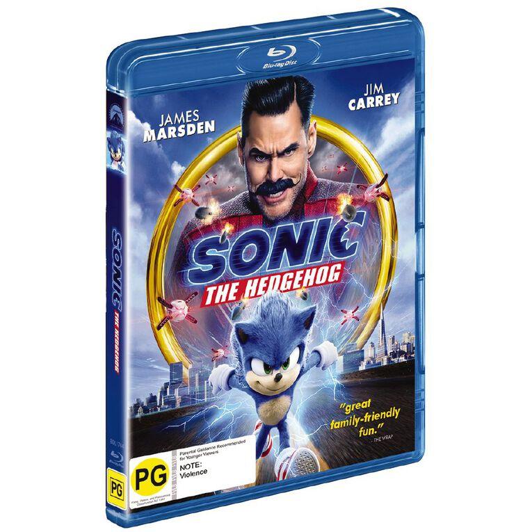 Sonic The Hedgehog Blu-ray 1Disc, , hi-res