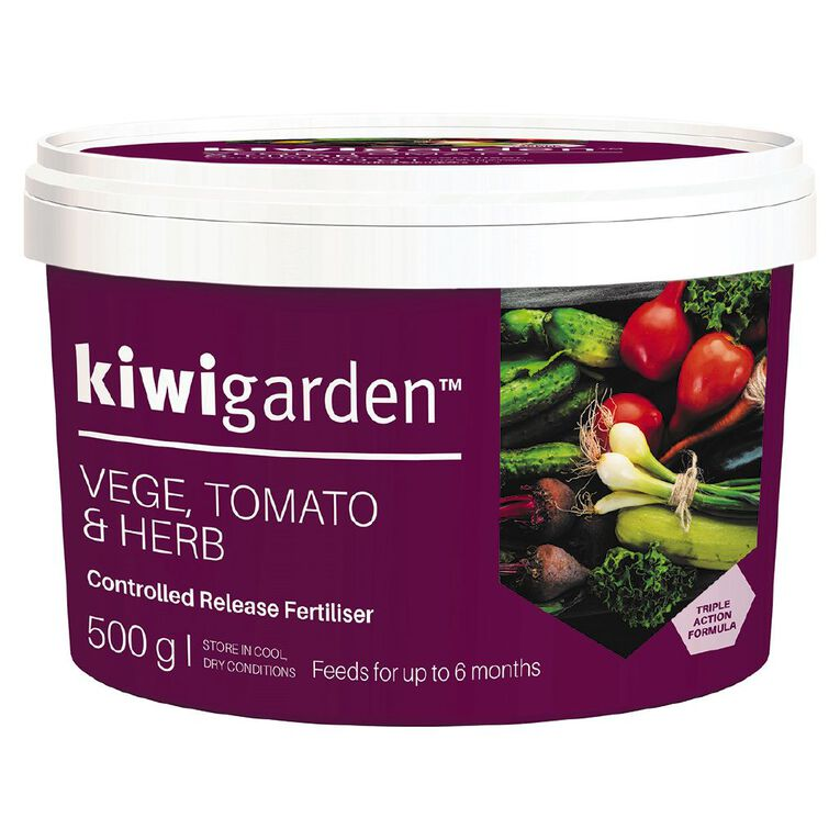 Kiwi Garden Vegetable Controlled Release Fertiliser 500g, , hi-res