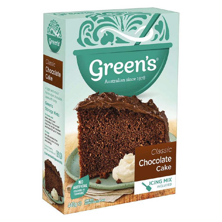 Green's Traditional Chocolate Cake 440g, , hi-res