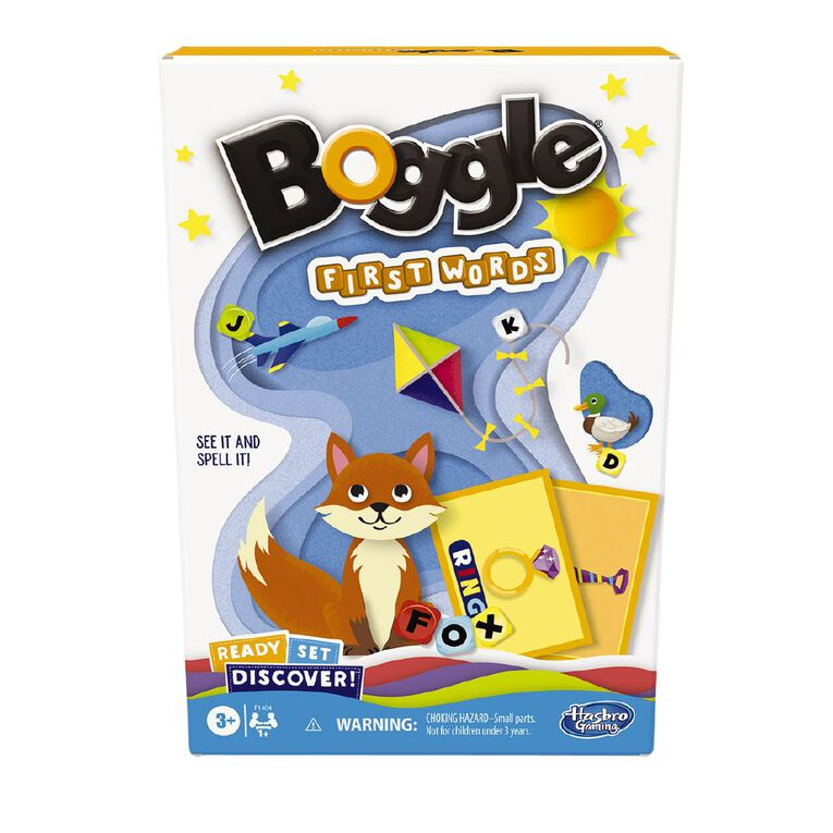 Ready Set Discover Boggle First Words, , hi-res