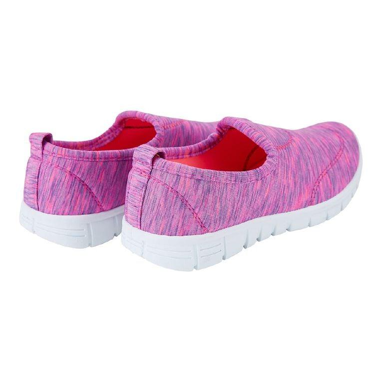 Young Original Kids' Slip On Shoes, Pink W21, hi-res