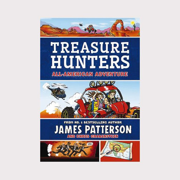Treasure Hunters #6 All-American Adventure by James Patterson, , hi-res