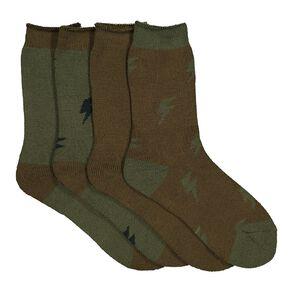H&H Boys' Thermal Socks 4 Pack
