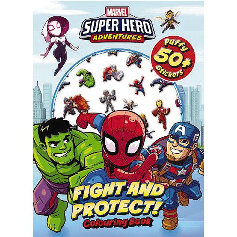 Marvel Superhero Adventures Puffy Stickers, , hi-res