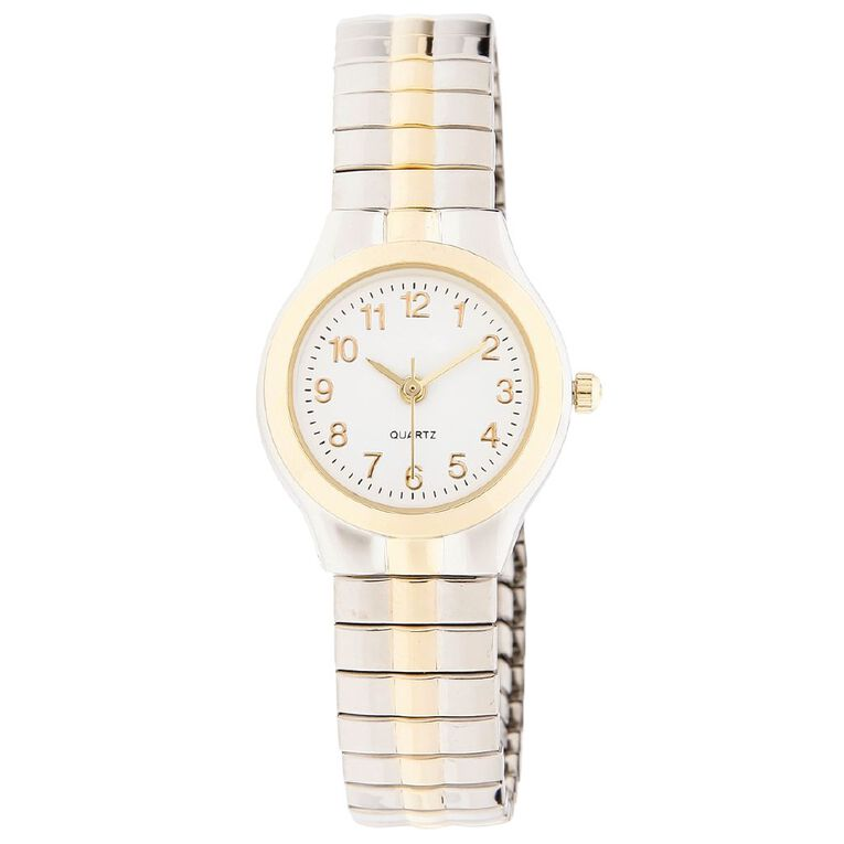 Eternity Women Classic Analogue Watch Gold Silver, , hi-res