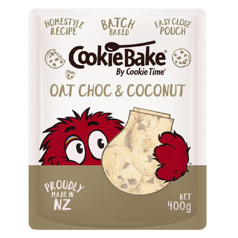 Cookie Time Bake Oat Choc & Coconut 400g, , hi-res