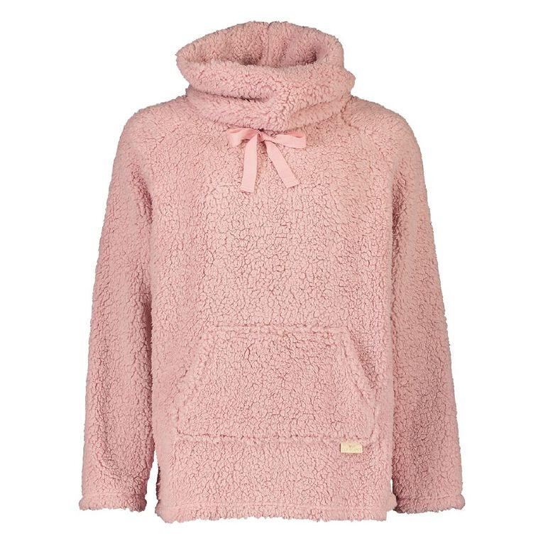 H&H Love Your Planet Women's Roll Neck Top, Pink, hi-res