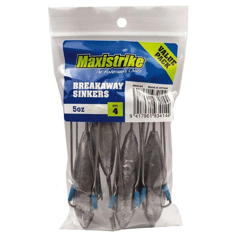 Maxistrike Sinker Breakaway 5oz 4 Piece, , hi-res