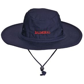 Schooltex Balmoral Intermediate Aussie Hat with Embroidery