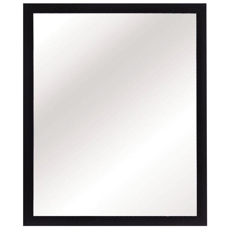 Living & Co Mirror Everyday Black 40cm x 50cm, , hi-res