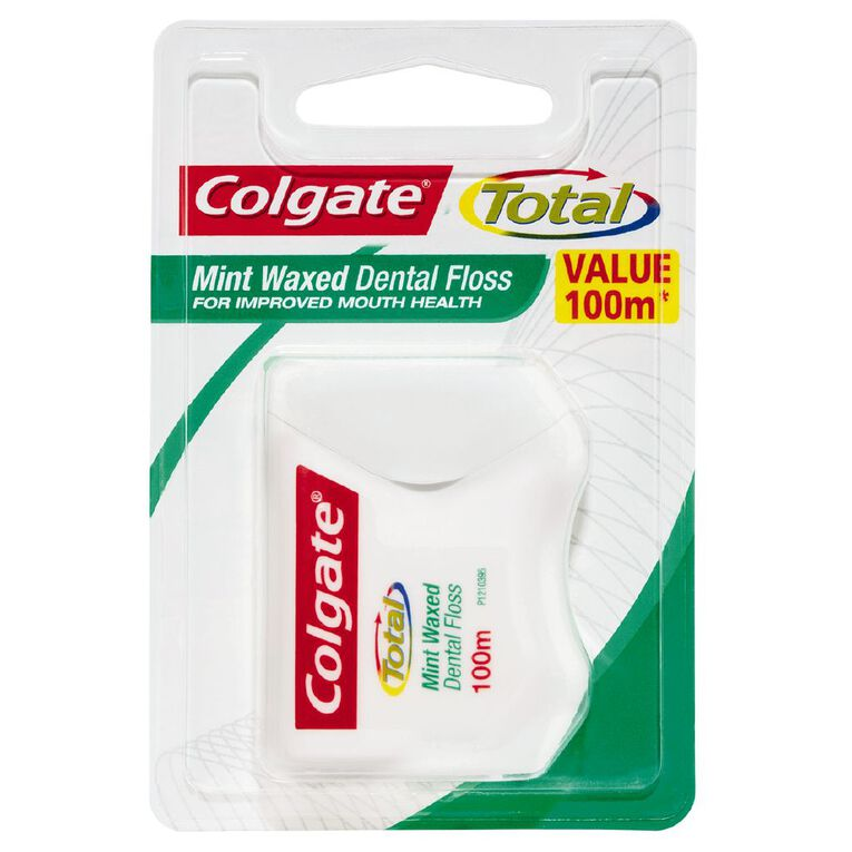 Colgate Floss Mint 100m, , hi-res