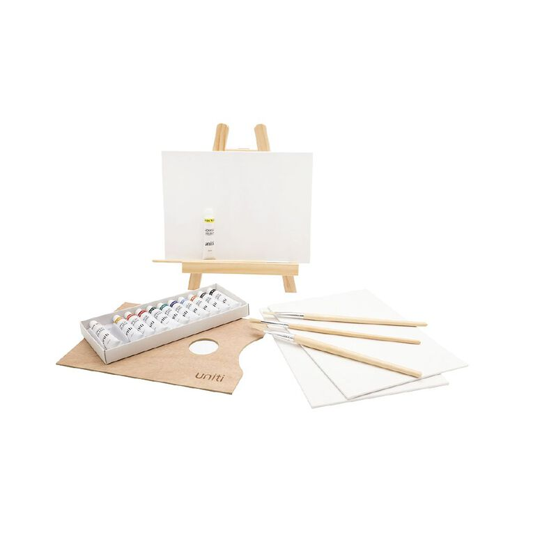Uniti Art Set Mini Table Easel 21 Piece, , hi-res