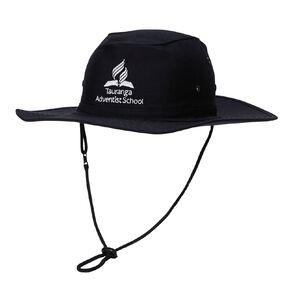 Schooltex Tauranga Adventist Aussie Hat with Embroidery