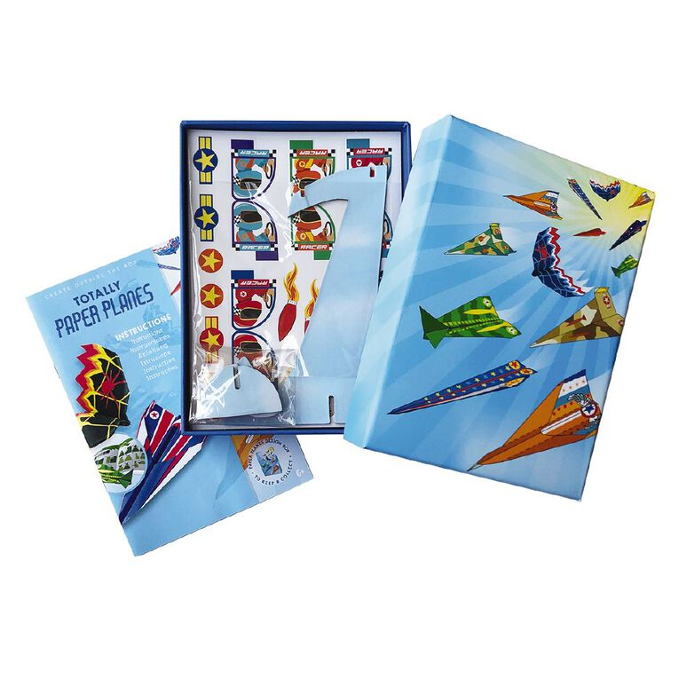 Totally Paper Planes Create Your Own Paper Planes Art Set, , hi-res