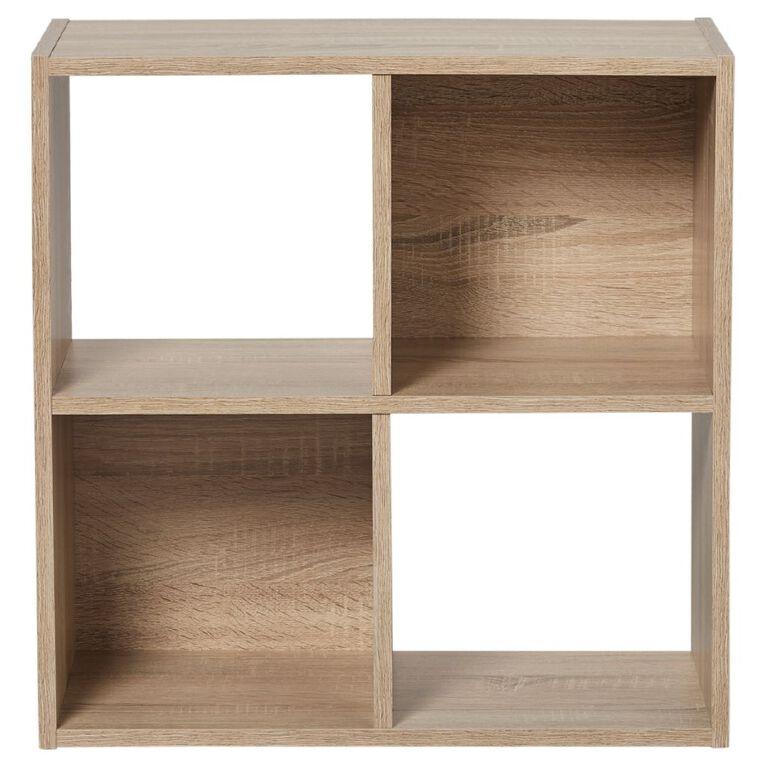 Living & Co Mason 4 Cube Oak Look, , hi-res