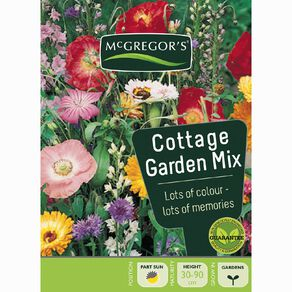McGregor's Cottage Garden Mixed Flower Seeds