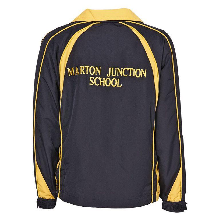 Schooltex Marton Junction School Jacket with Embroidery, Black/Gold, hi-res