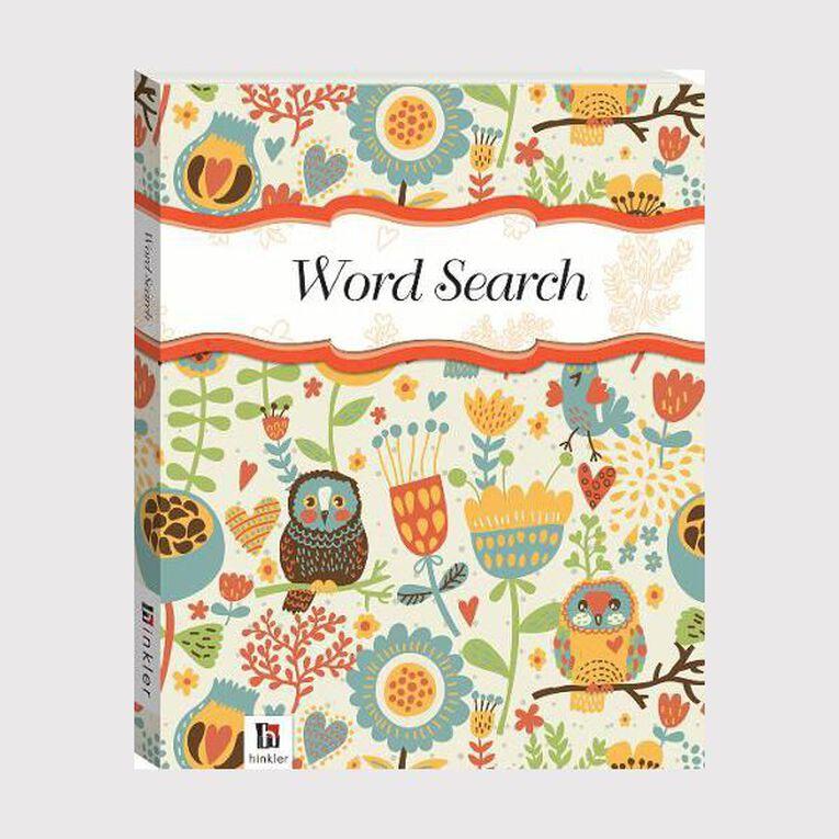 Flexibound Puzzles: Wordsearch #2 Owls, , hi-res