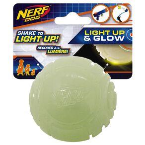 NERF lightening LED Glow Sonic Ball