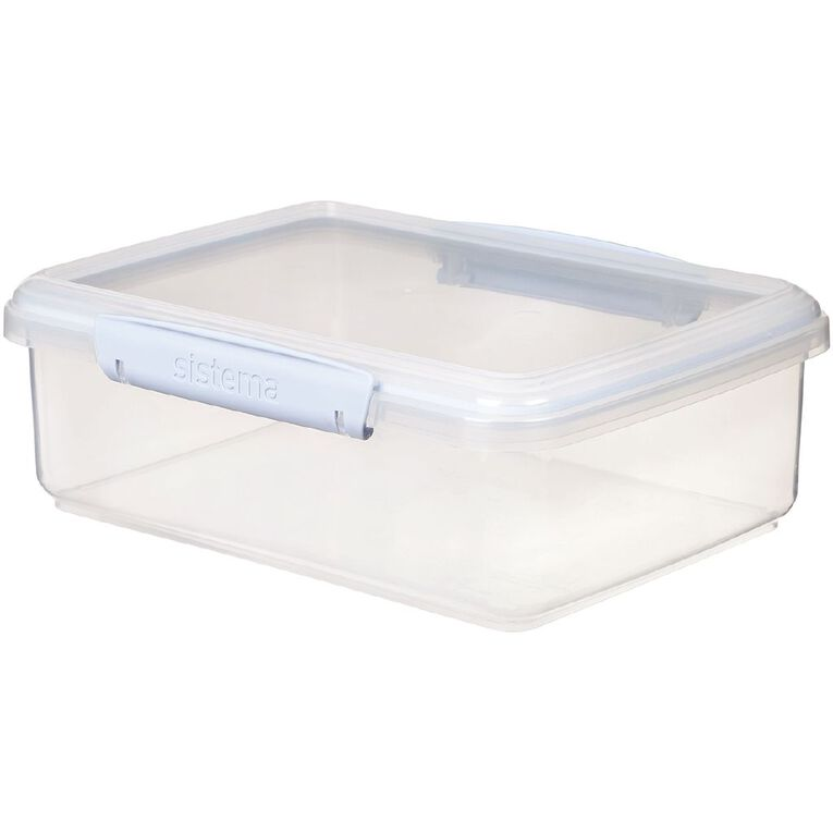Sistema Klip it Rectangular Container Jewel Tone Assorted 2L, , hi-res