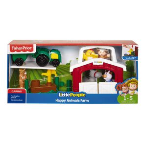 Fisher-Price LP Happy Animal N Road Trip Ready Garage Assorted