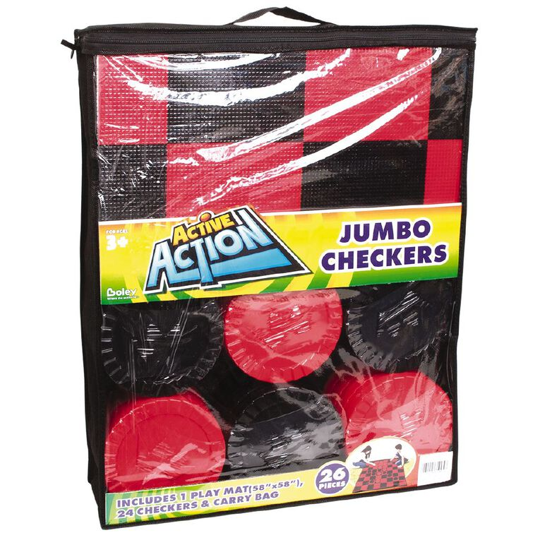 Jumbo Checkers, , hi-res