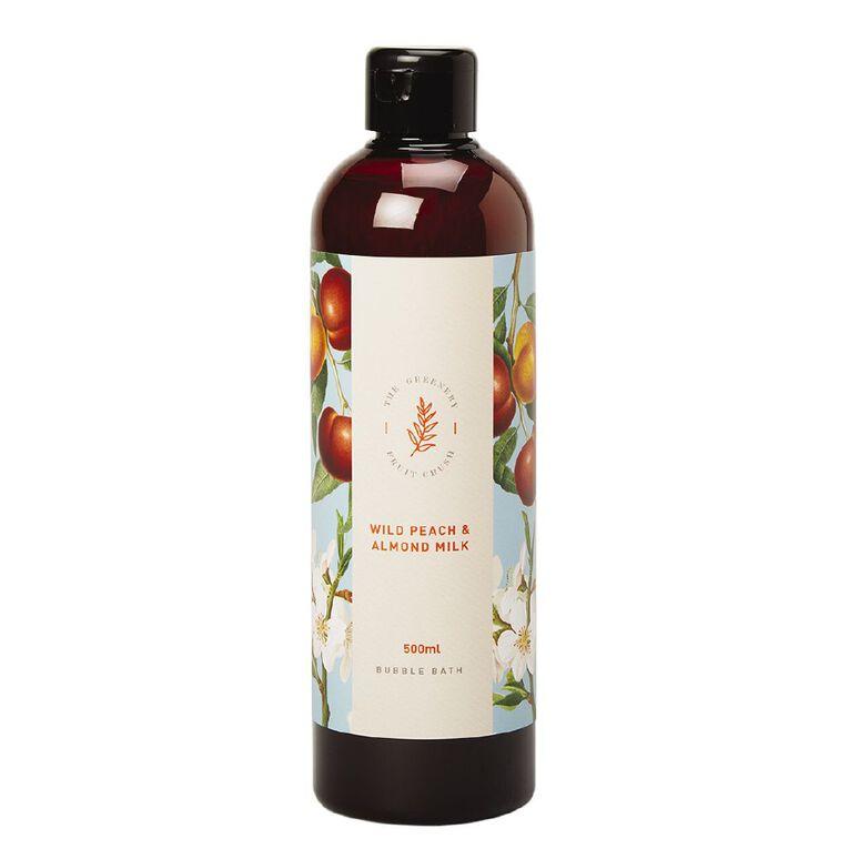 Winter Fruit Wild Peach And Almond Milk Bubble Bath 500ml, , hi-res