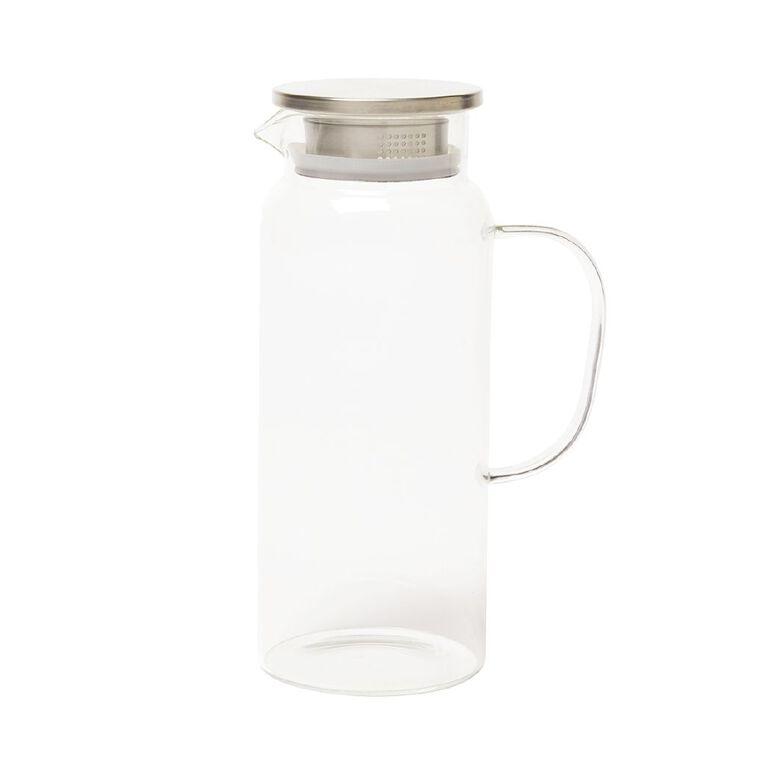 Living & Co Glass Jug 1.8L, , hi-res