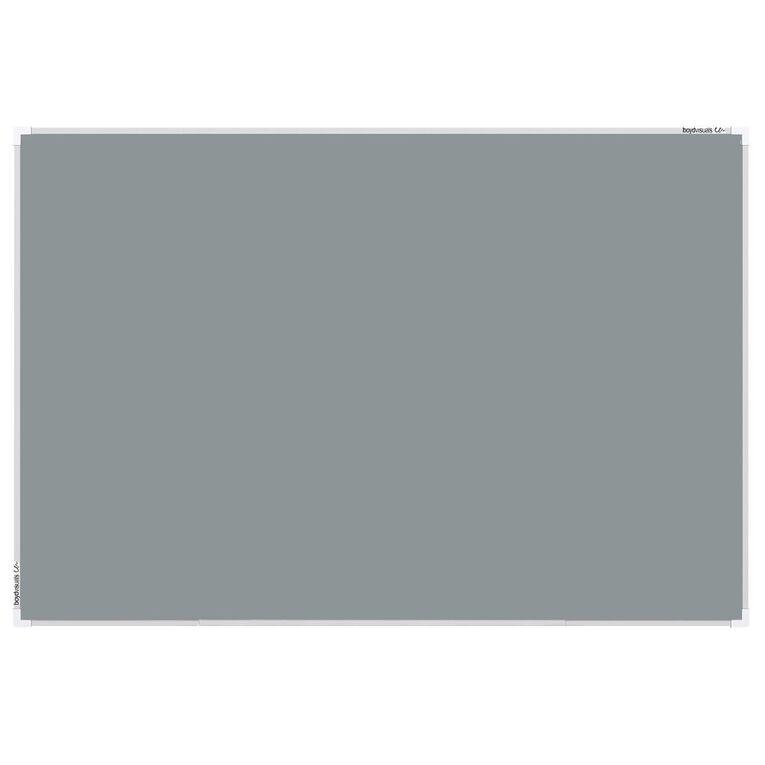Boyd Visuals Pinboard 600 x 900mm Grey, , hi-res