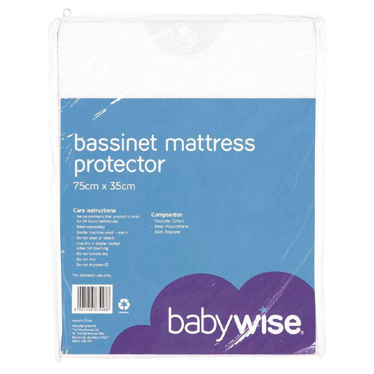 Babywise Bassinet Mattress Protector, , hi-res