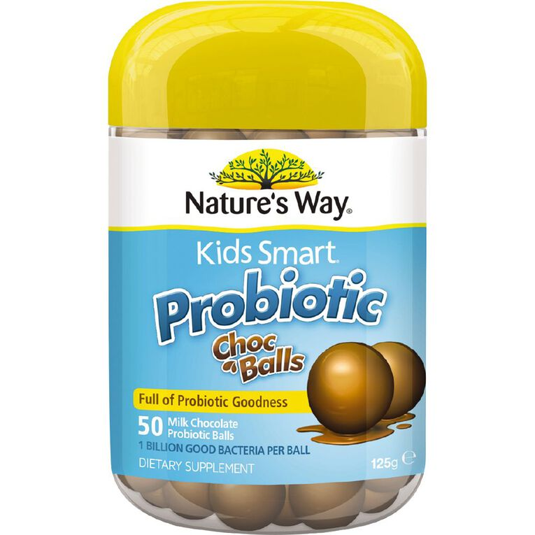 Nature's Way Kids Smart Probiotic Choc Balls 50s, , hi-res