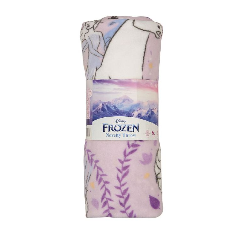 Frozen Throw Coral Fleece Princess, , hi-res