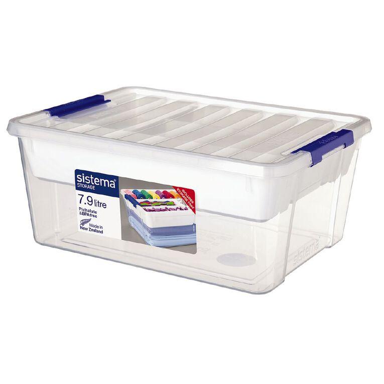 Sistema Storage Organiser Clear 7.9L, , hi-res