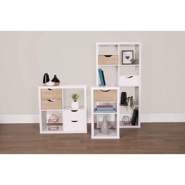 Living & Co Valencia Cube Storage Drawer Insert White, , hi-res
