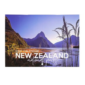 Bright Ideas 2021 Calendar Monthly National Parks A5