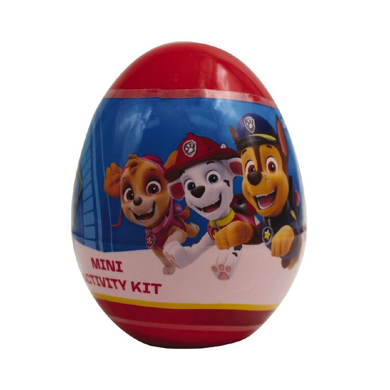 Paw Patrol Paw Patrol Activity Egg Mini, , hi-res