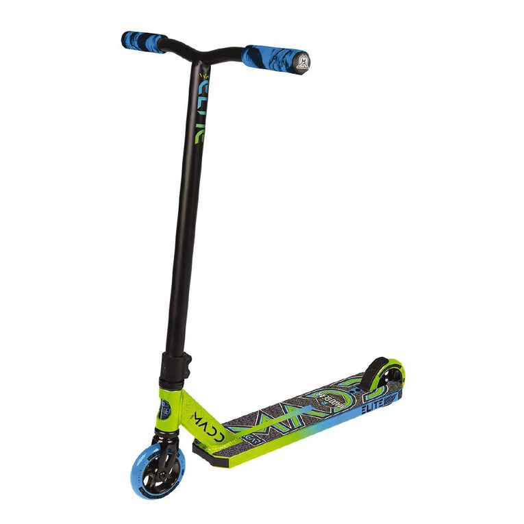 MADD Whip Elite 2020 Blue/Green Scooter, , hi-res