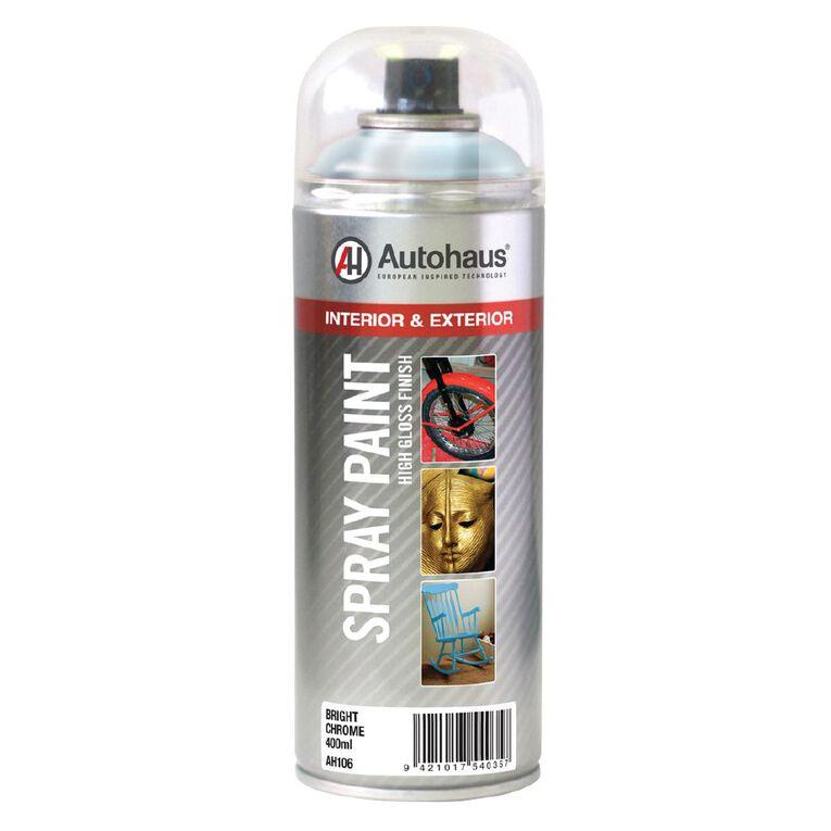 Autohaus Chrome Spray Paint 400ml, , hi-res
